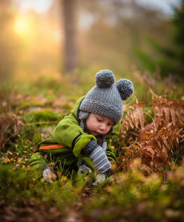 Un bébé dans les bois